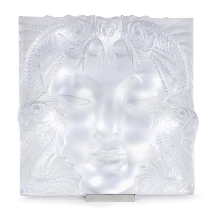 A Lalique crystal sculpture,
