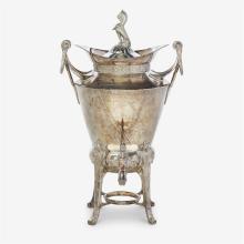 An Aesthetic Movement silver-plated samovar, Reed & Barton, Taunton, MA,circa 1870