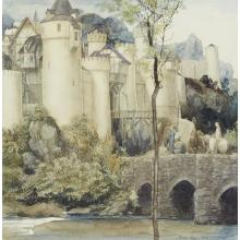 """ALAN LEE, (BRITISH, B. 1947), """"THEY COULD SEE A WALLED TOWN, THE FAIREST ANYONE HAD EVER SEEN"""""""
