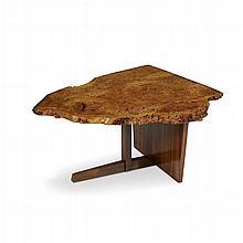 GEORGE NAKASHIMA (AMERICAN, 1905-1990), SPECIAL MINGUREN II TABLE, NEW HOPE, PENNSYLVANIA, CIRCA 1977
