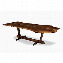 GEORGE NAKASHIMA (AMERICAN, 1905-1990), SPECIAL CONOID DINING TABLE, NEW HOPE, PENNSYLVANIA, 1984