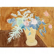 SALLY AVERY, (AMERICAN, 1902-2003), FLORAL STILL LIFE