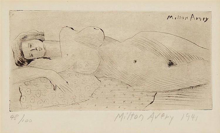 MILTON AVERY, (AMERICAN, 1885-1965),