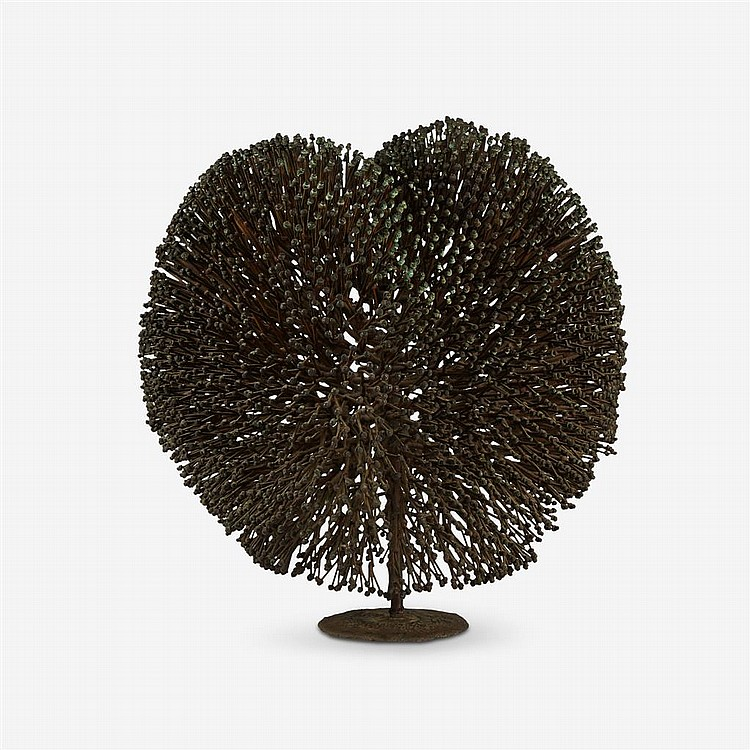 HARRY BERTOIA, (AMERICAN, 1915-1978), SEA ANEMONE (BUSH)
