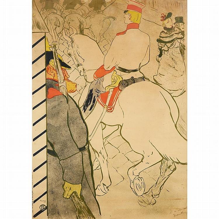 HENRI DE TOULOUSE-LAUTREC, (FRENCH, 1864-1901),