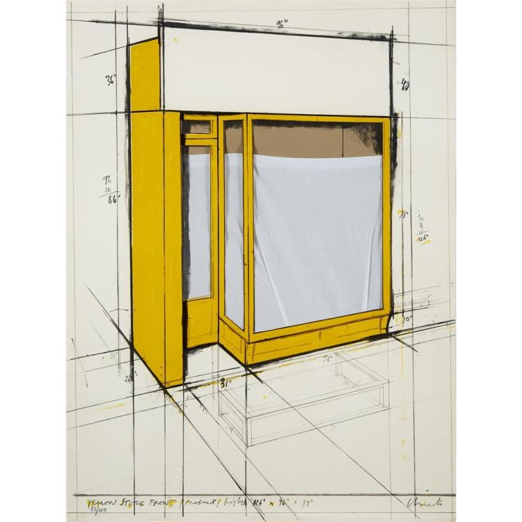 CHRISTO AND JEANNE-CLAUDE, (AMERICAN, B. 1935),