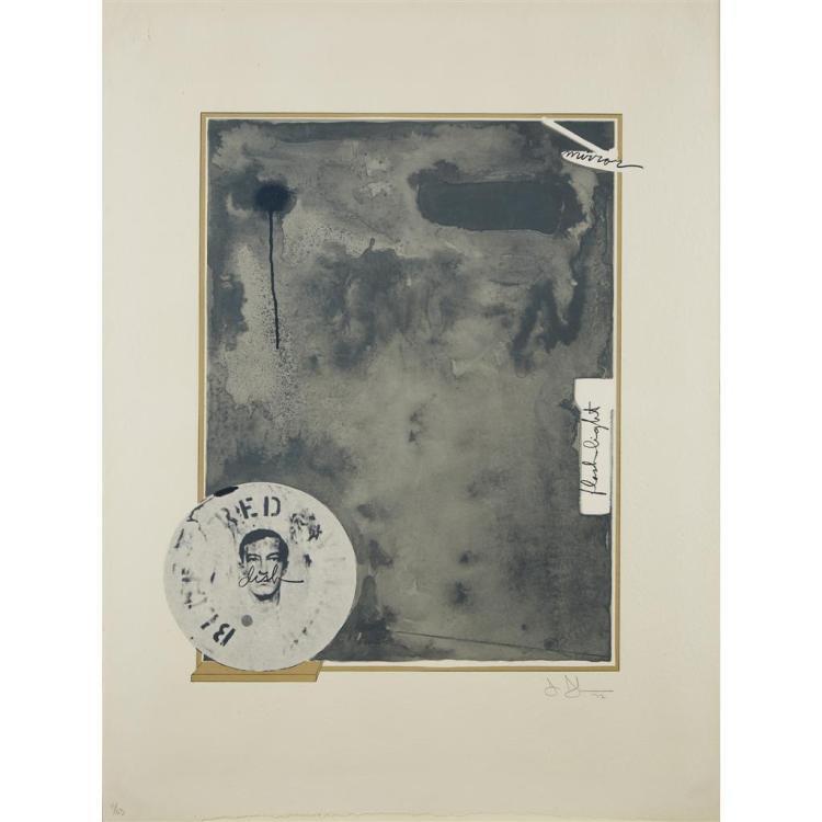 JASPER JOHNS, (AMERICAN, B. 1930),
