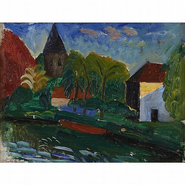 GUSTAVE DE SMET, (BELGIAN, 1877-1943),