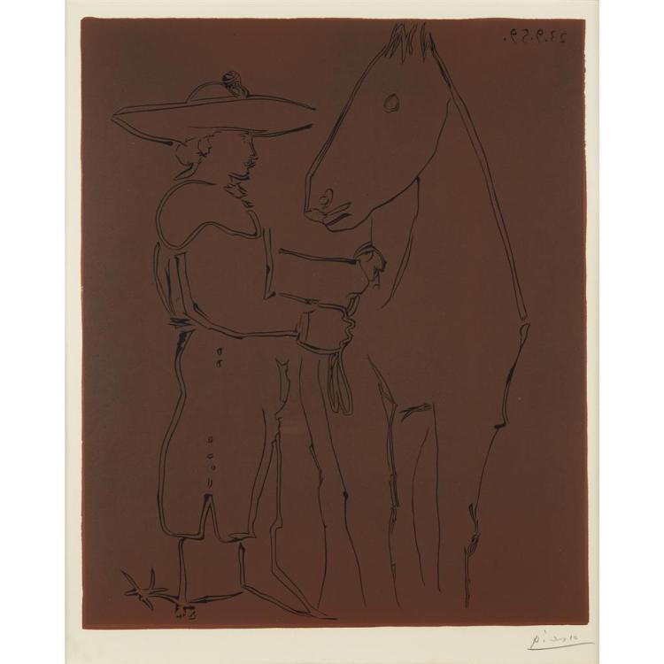 PABLO PICASSO, (SPANISH, 1881-1973),