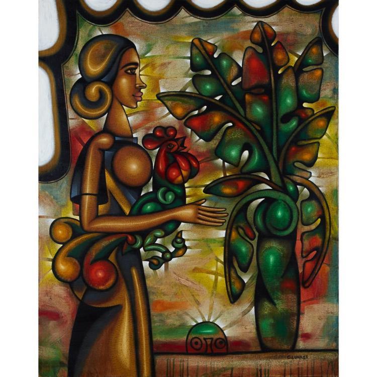 CARLOS LUNA, (CUBAN, B. 1969),