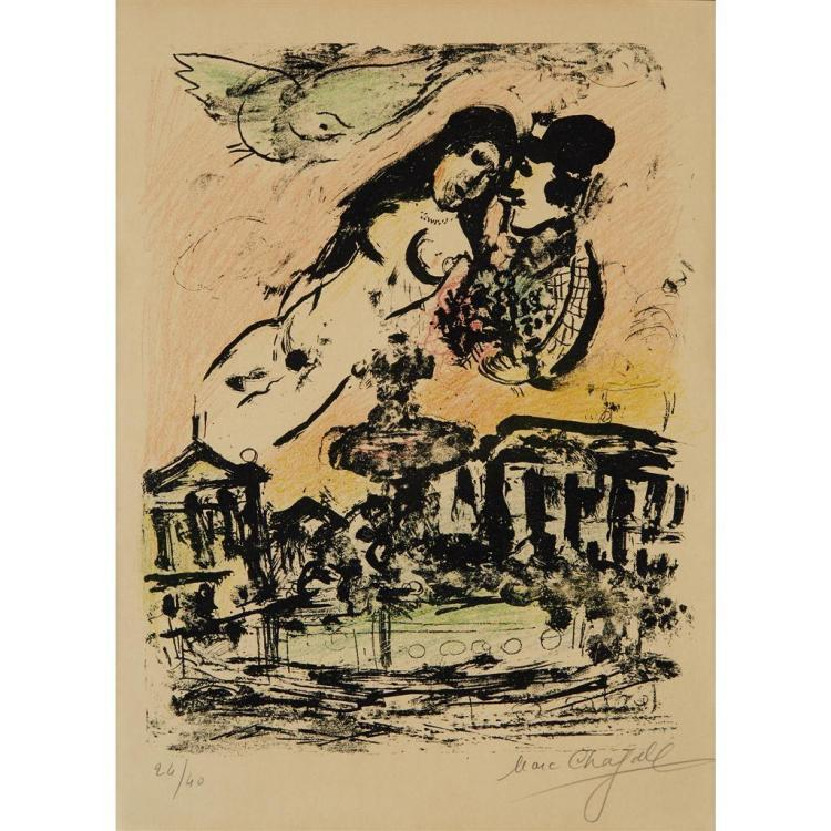 MARC CHAGALL, (FRENCH/RUSSIAN, 1887-1985),