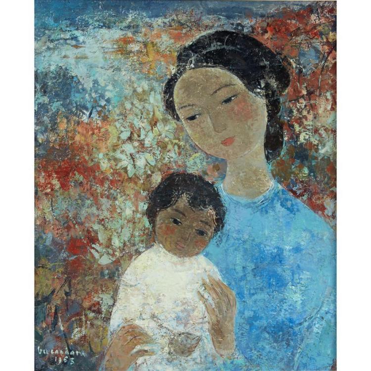 VU CAO DAM, (FRENCH, 1908-2000)MATERNITÉ