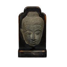 A Thai bronze head of a Buddha, sukhothai/ayutthaya period, 17th/18th century
