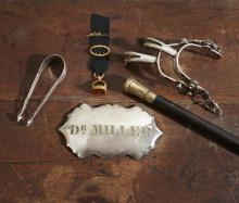 Group of items relating to prominent White House physician Dr. Thomas Miller (1806-1873) of Washington, D.C., 19th century