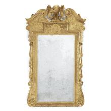 George II gilt-gesso pier mirror, Circa 1740