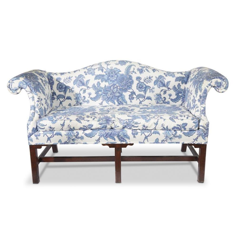 A Small Chippendale Mahogany Sofa, Circa 1780