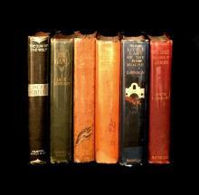 (Scranton Estate : Modern Literature). 6 Vols London, Jack: The Son of the Sea Wolf. Boston: Houghton, Mifflin and Company, 1900. Fi...