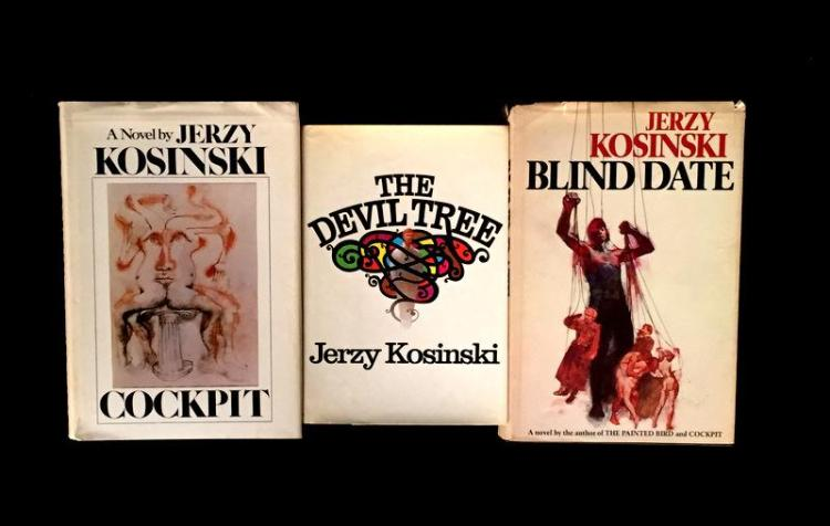 a literary analysis of the novel blind date by jerzy kosinski Unfaded black cloth boards with blind stamped the painted bird by jerzy kosinski first modern library includes small drawing by kosinski book spine.