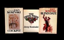 (Literature). Kosinski, Jerzy : signed copies. 3 vols: The Devil Tree. New York: Harcourt Brace Jovanovich, (1973). First edition. 1...