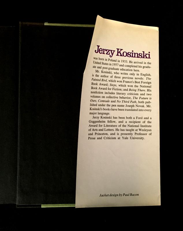 a literary analysis of the novel blind date by jerzy kosinski The lost afterword from jerzy kosinski's the painted bird  his following novels  – steps, being there, the devil tree, cockpit, blind date, passion play  the  same chance for interpretation, he traces the truth in the deepest.