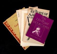 (Literature). Lot. Selected Works of Graham Greene: Greene, Graham. The Little Train. London, etc.: Bodley Head, (1973). Illustrat...