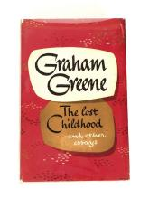 (Literature). Greene, Graham. The Lost Childhood and other Essays. London: Eyre and Spottiswoode, 1951. First edition. 1 vol. 8vo,...