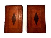 (Early English Imprints). Gay, (John) Fables. London: J. Tonson and J. Watts; J. and P. Knapton, 1733 - 1738. 2 vols.