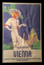1 Piece. Color Lithographic Poster. Wettach, Reihart.