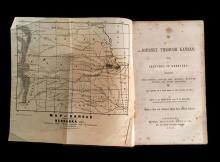 (Americana : Travel and Exploration). Boynton, C(harles) B.; Mason, T. B. A Journey through Kansas; with Sketches of Nebraska. Cinci...