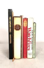 (Literature). 7 vols. Signed Books: Auchincloss, Louis. Watchfires. Boston: Houghton Mifflin, 1982. First printing. 8vo, original cl...