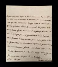 (Autographs : Royalty). Marie Charlotte Caroline, Queen Consort of Naples and of Sicily (Maria Carolina of Austria). Autograph Lette...