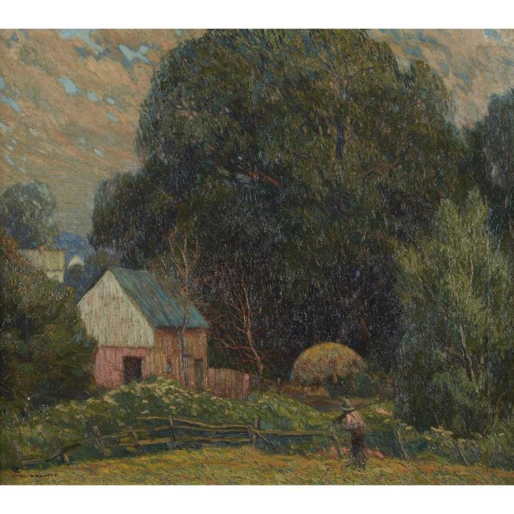 CARL RUDOLPH KRAFFT, (AMERICAN 1884–1938),