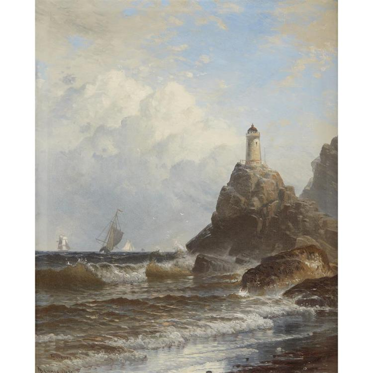 ALFRED THOMPSON BRICHER, (AMERICAN 1837-1908),