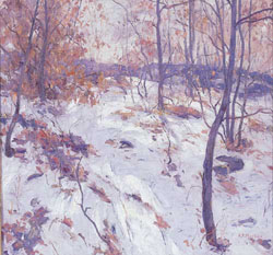 ANTONIO PIETRO MARTINO (American 1902-1989) 'EARLY SNOW'