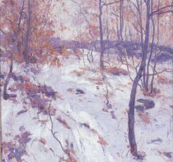 ANTONIO PIETRO MARTINO (American 1902-1989) 'EARLY SNOW'