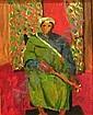 SALVATORE PINTO (Italian/ American 1905-1966) A NORTH AFRICAN MUSICIAN, Salvatore Pinto, Click for value
