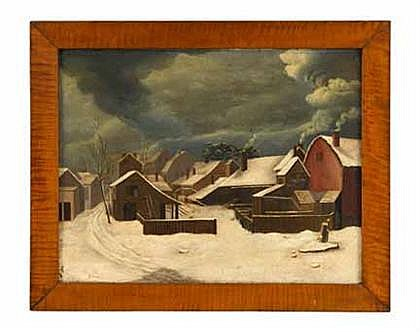 Francis Guy (1760-1820) study for winter in