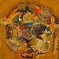 LAXMAN SHRESHTHA, (INDIAN B. 1939), ABSTRACTION, Laxman Shreshtha, Click for value