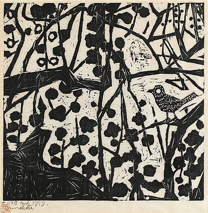 SHIKO MUNAKATA, (JAPANESE 1903-1975),