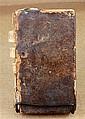 1 vol. Le Fevre, Nicholas. Traite de la Chymie. Paris: Thomas Jolly, [1669]. Vol 1 (of 2) only. 12mo, old calf bds, worn...