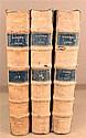 3 vols.  Vellum Bindings - 17th- & 18th-Century:   Sacrosancta Concilia. [Paris, 1671.] Vols. 13, 15 & Index. 1 vol. w...