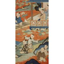 A Chinese kesi 'boys' tapestry panel, late ming/early qing dynasty