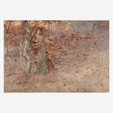 William St. John Harper (American, 1851–1910) Autumn