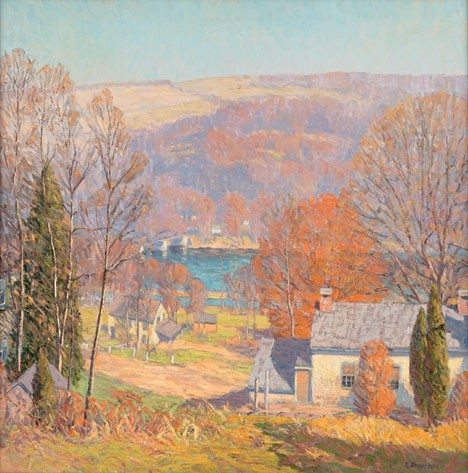 KENNETH NUNAMAKER, (AMERICAN 1890-1957), CENTER BRIDGE, PA