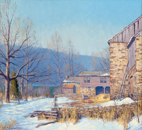KENNETH NUNAMAKER, (AMERICAN 1890-1957), OLD HOMESTEAD