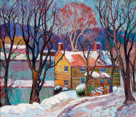 FERN ISABEL COPPEDGE, (AMERICAN 1888-1951), OLD HOUSE, POINT PLEASANT