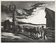 THOMAS HART BENTON, (AMERICAN 1889-1975),