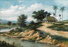 JUAN GIL GARCIA, (CUBAN 1879-1932), THE TROPICS