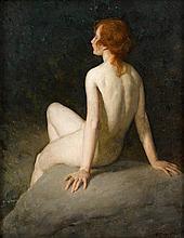 WARREN B. DAVIS, (AMERICAN 1865-1928), AT THE SOURCE