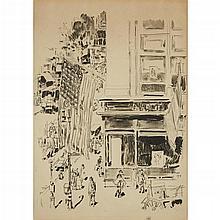 CHILDE HASSAM, (AMERICAN 1859-1935),